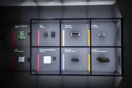 Genetec Expreience Center in Paris im Auftrag von Bestmann Messebau