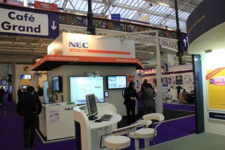 NEC im Auftrag von Leister International