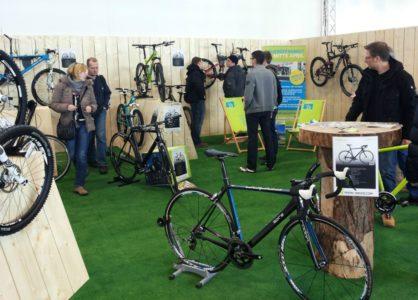 Messestand für H&S Bike-Discount GmbH Bonn auf der Messe VELOBerlin