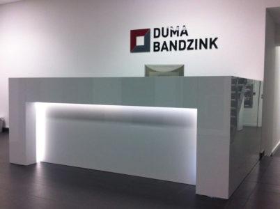 Empfangstheke Duma Bandzink